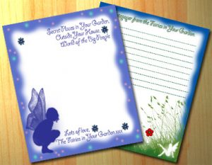 Fairy Notepaper