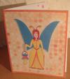 Four fold card from the Dummy Fairy