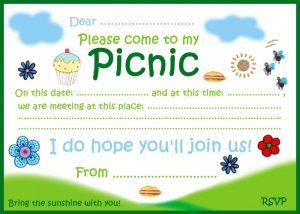 Invitation to a picnic
