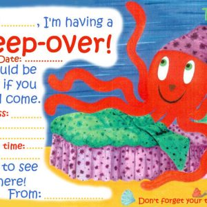 Invitation to a sleep-over