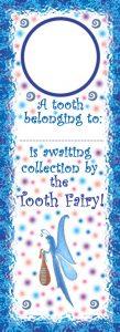Thin Tooth Fairy Door Hanger