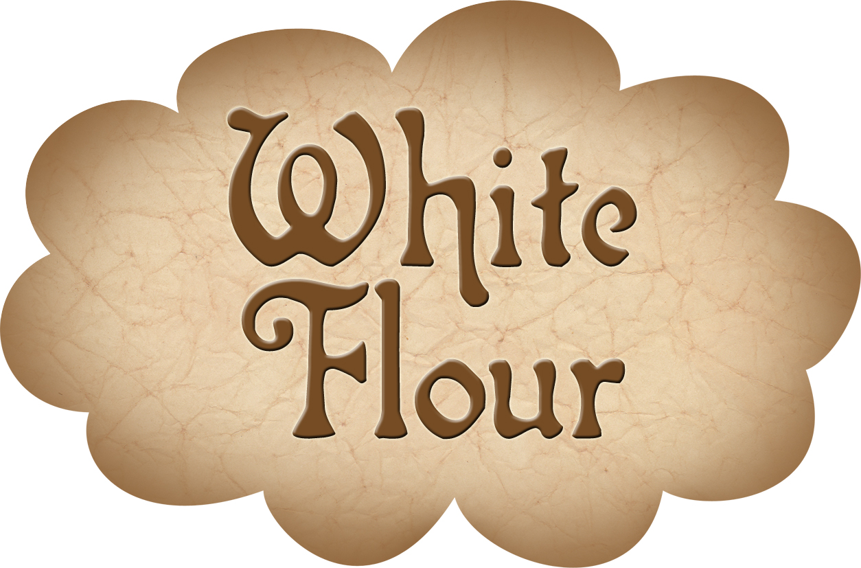 Pantry Label: White Flour - Rooftop Post Printables