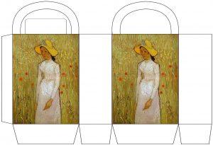 "Van Gogh ""Girl in White"" Party Bags"