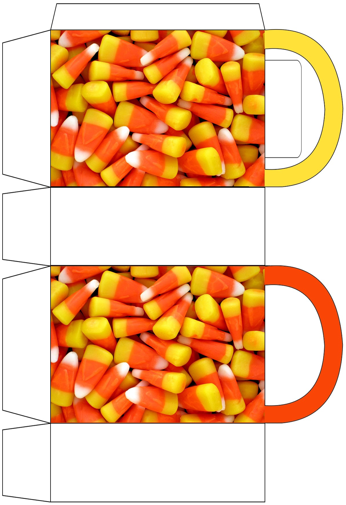 Candy Corn Party Bag Rooftop Post Printables