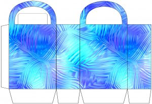 Icy Patterns Party Bag