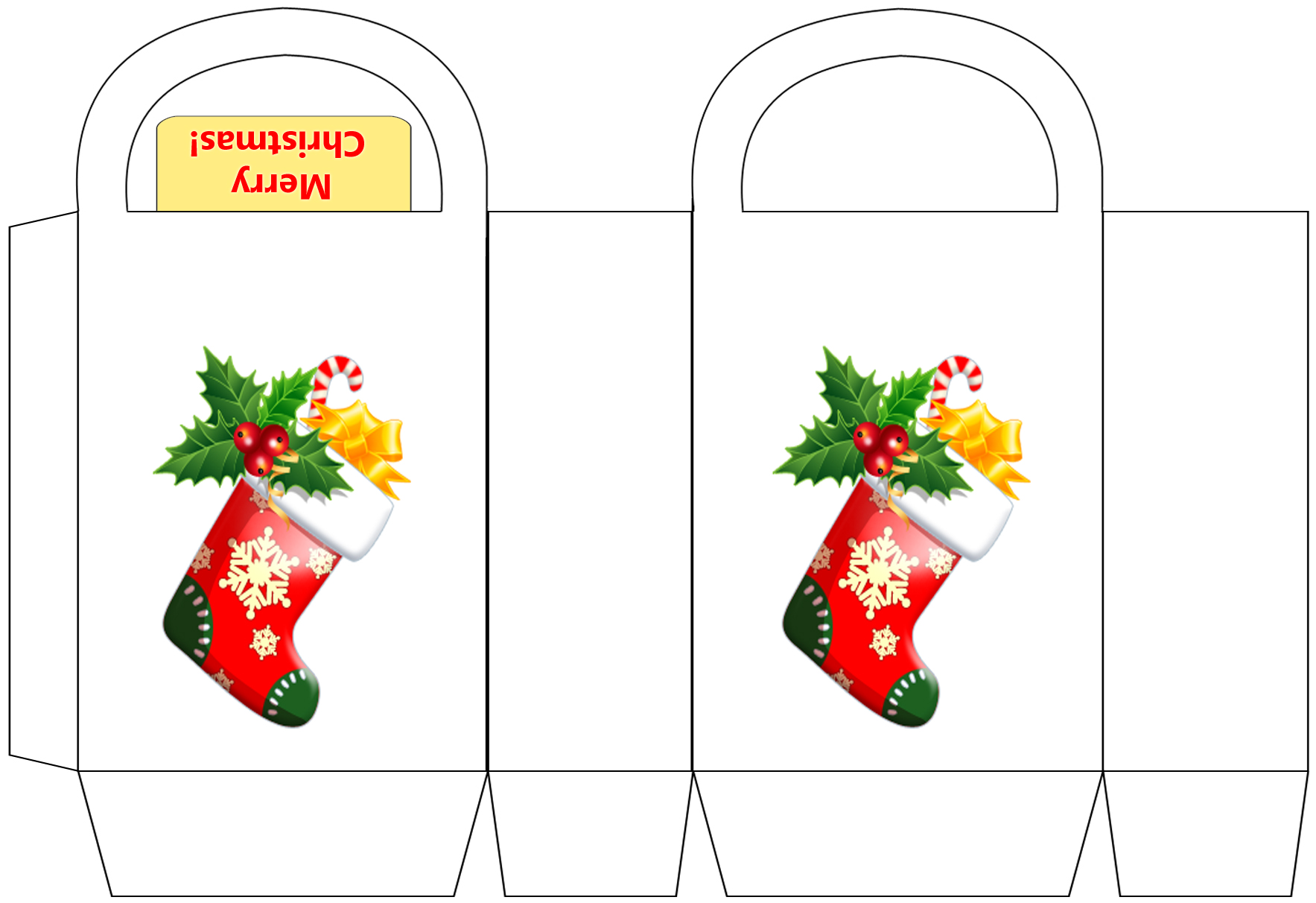 christmas stocking party bags