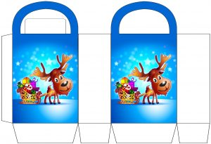 Reindeer and Sleigh Party Bag