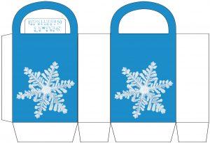 Snowflake Party Bag