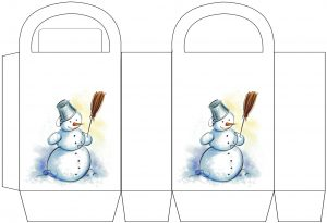 Snowman Party Bag