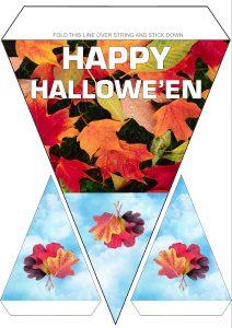 Printable Happy Halloween decoration