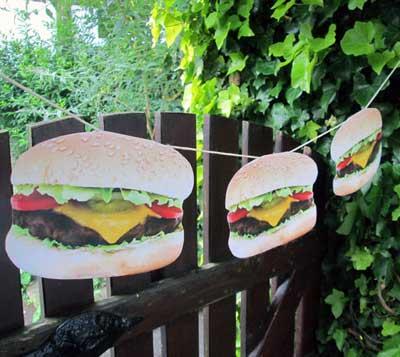 Burger Garland
