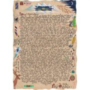 """Illustrated story letter from Santa entitled """"Can't Wait for Christmas""""."""