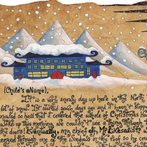 Santa Story-Letter - Snowed In