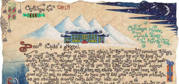 Santa Story-Letter - The Wrong Sack