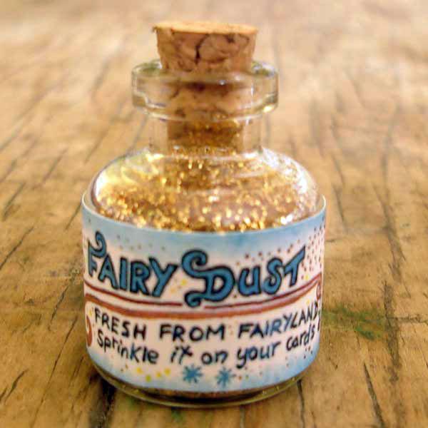 Fine gold fairy dust