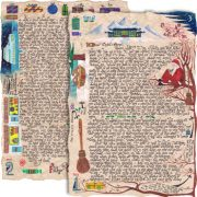 """""""Father Christmas and the Witch's Broom"""" is a magical two page story letter written from Santa to your child."""
