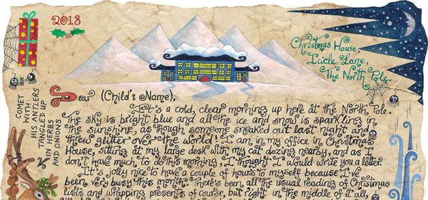 Story-Letter from Father Christmas: A Kitchen Full of Reindeer-story-letter from Father Christmas