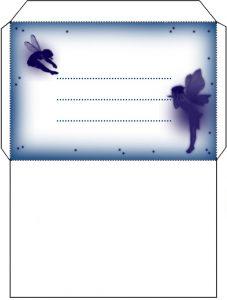 Blue Fairy Envelope