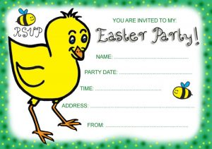 Invitation: Easter Party