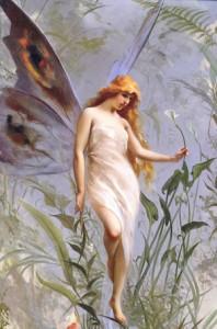 fairy-in-a-garden
