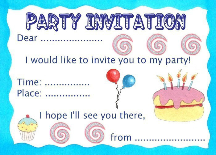 Invitation To A Party for your inspiration to make invitation template look beautiful