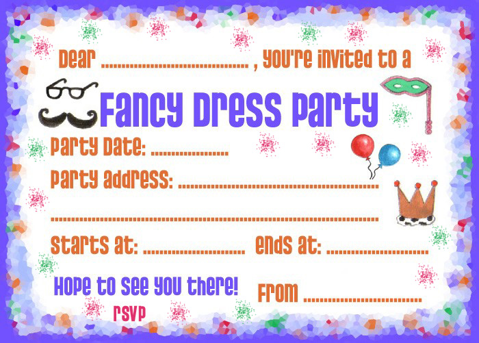 Party Invitations Rooftop Post Printables – Fancy Party Invitation