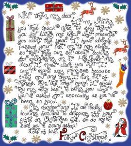 chrismas notes