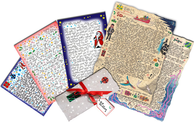 Kids Printables from Father Christmas