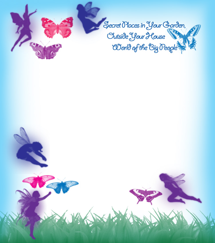 Garden fairies blank notepaper rooftop post printables for Free printable tooth fairy letter template