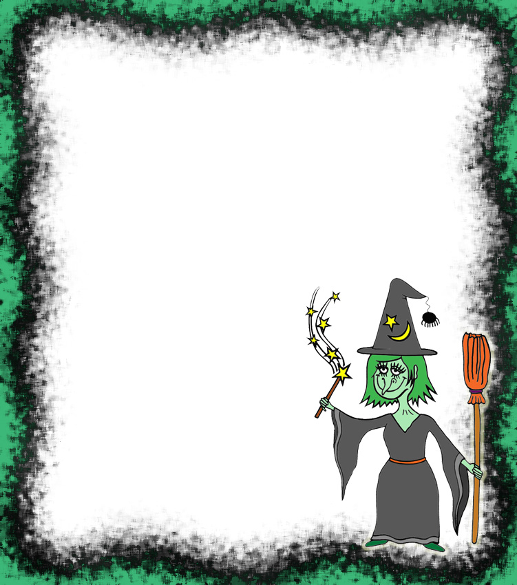 Printable Witchy Notepaper