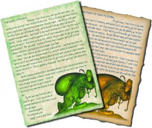 Printable letters to convince your child that monsters are moving out