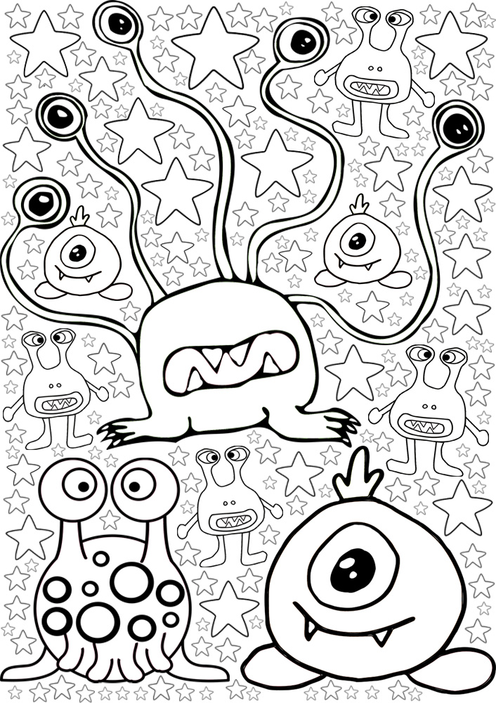 More Monsters