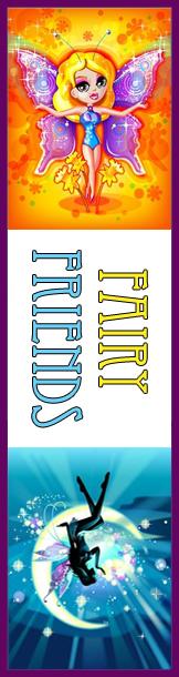 Fairy Friends Bookmark
