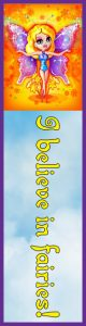 Printable fairy bookmark