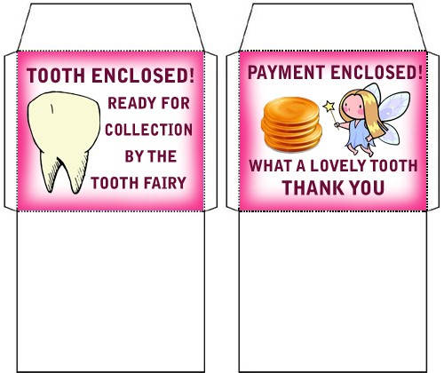 Tiny tooth fairy envelopes one for a tooth one for money matching tiny tooth fairy envelopes for teeth and money spiritdancerdesigns Choice Image