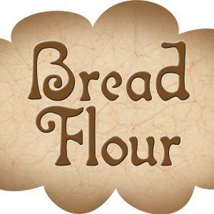 Printable label for bread flour