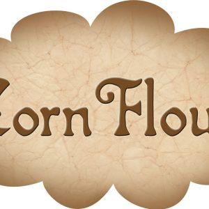 Printable label for corn flour