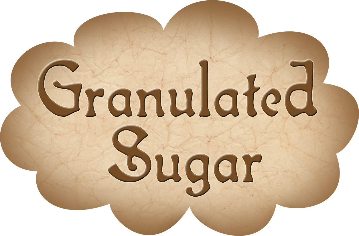 Pantry Label Granulated Sugar Rooftop Post Printables