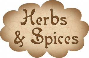 Pantry Label: Herbs and Spices