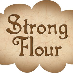 Printable label for strong flour