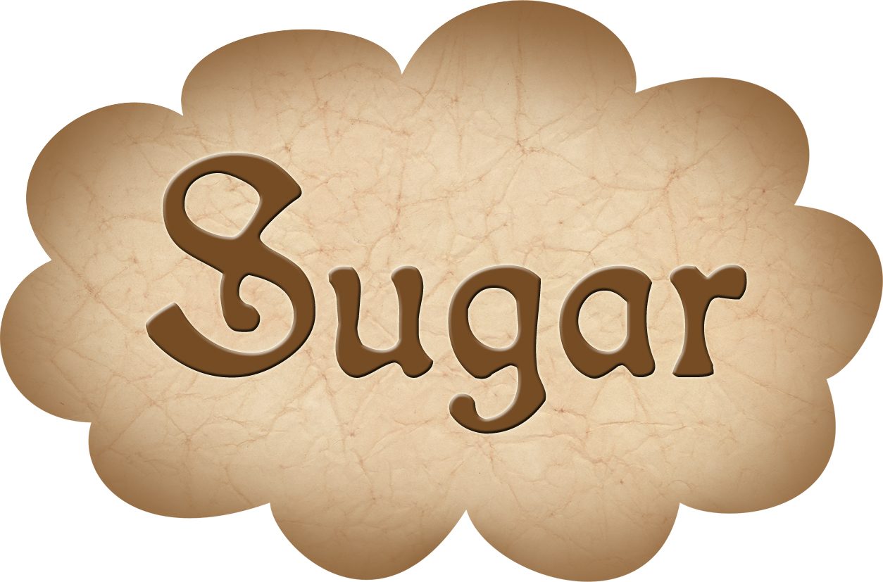 Pantry Label: Sugar
