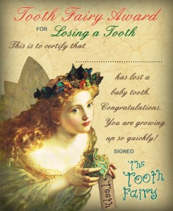 Award for Losing a Tooth