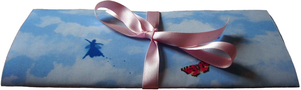 Tooth Fairy Letter Tied with Pink Ribbon
