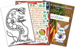 Easter Bunny Printables for Children