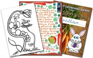 Easter Bunny Printables for Children