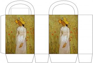 "Van Gogh ""Girl in White"" Party Bags"