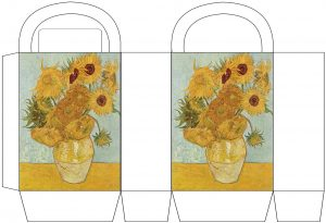 "Van Gogh ""Sunflowers"" Party Bag"