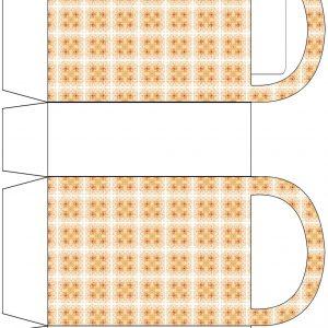 Caramel Tiles Party Bag