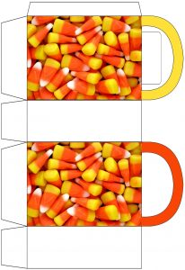 Candy Corn Party Bag