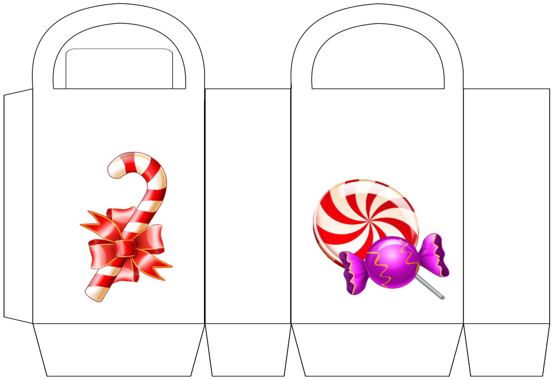 Christmas Candy Party Bag
